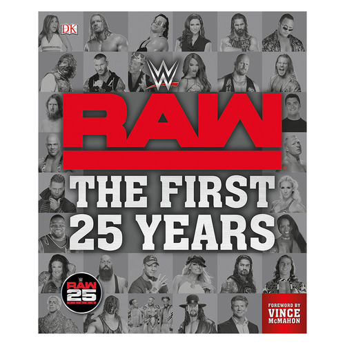 WWE RAW[The First 25 Years]책
