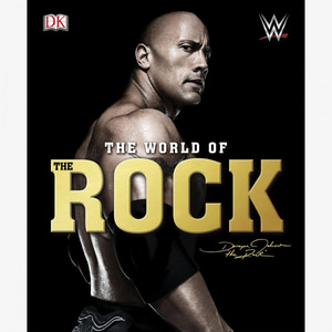 WWE[The World of The Rock]하드커버 북