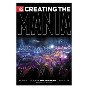 WWE[Creating The Mania]서적