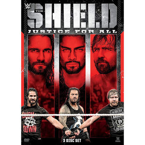 WWE[The Shield: Justice For All]정품 DVD