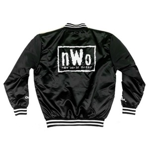 nWo[Vintage Black/White]초크라인 자켓